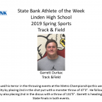 Linden's State Bank Athlete of the Week