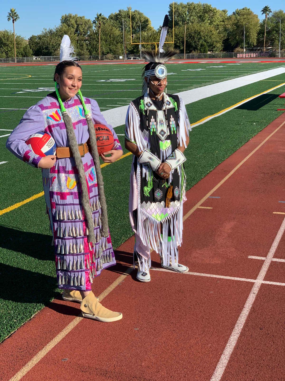 Native America Heritage Shines through Valley Student-Athletes