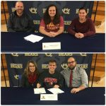 Bears sign offers to further their athletic careers