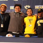 National Signing Day Photos: Four Bears Sign to Play Football in College