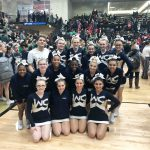 Varsity Competitive Cheer finishes 6th place at MCCA State Competition