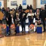 Girls Varsity Basketball honors 3 seniors on Valentine's Day after win against Ruskin, 62 – 41
