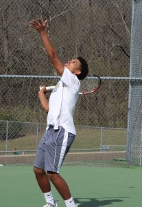 Photos: Chrisman Tennis Takes on Staley