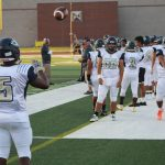 Photos: Chrisman Varsity Football versus Oak Park