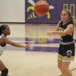 Photos: JV and Varsity Lady Bears at North Kansas City