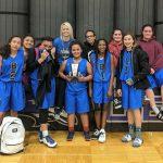 Girls Middle School B Basketball beats Osage Trail Middle School 33 – 28
