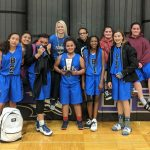 Girls Middle School B Basketball beats South Valley Middle School 22 – 20