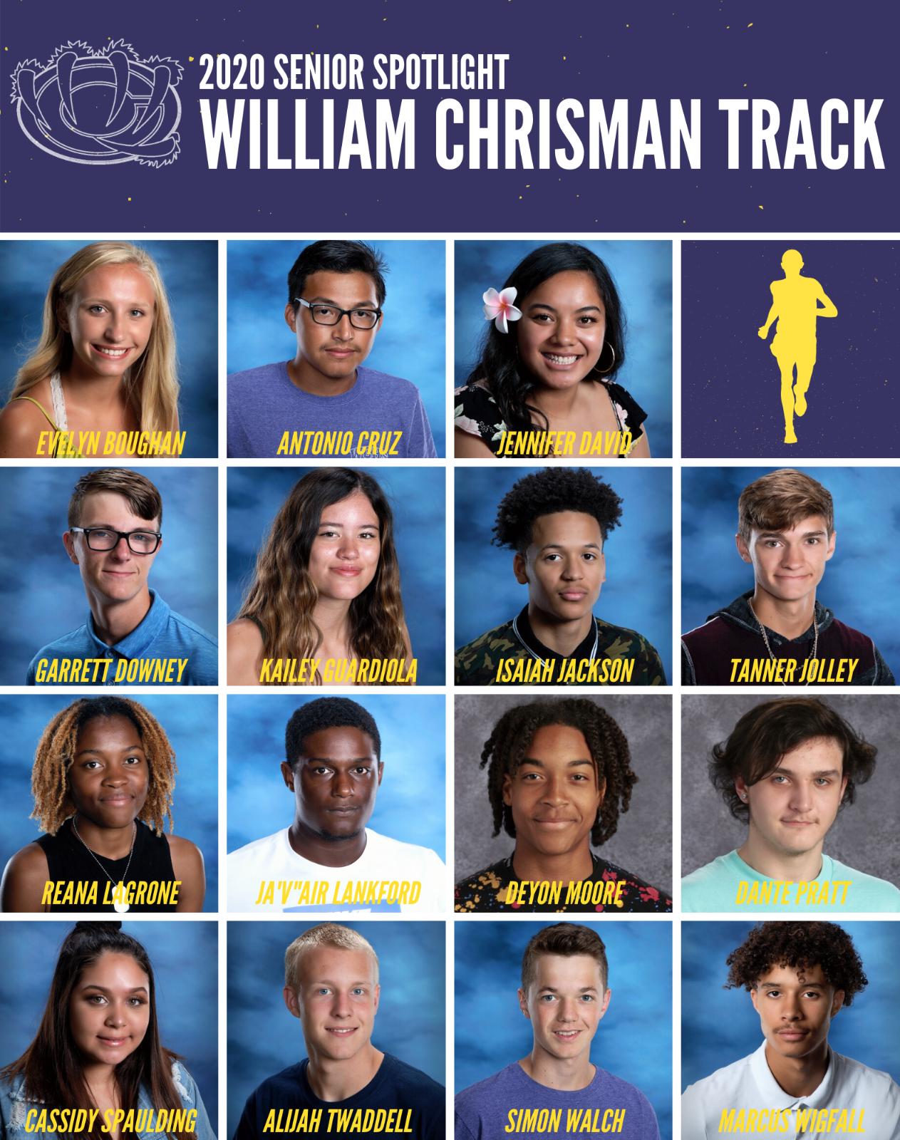 2020 Track and Field Senior Spotlight