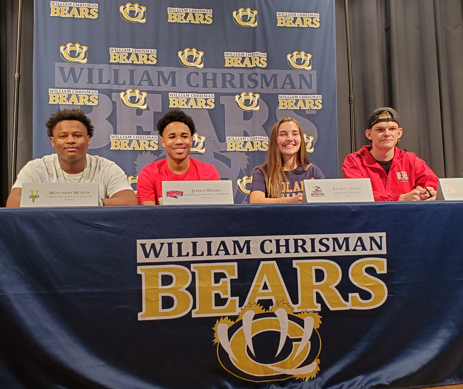 Chrisman Athletes Ink Letters of Intent on National Signing Day