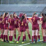 Girls Varsity Soccer vs. Woodside 1/11/18