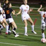 JV Girls Soccer home vs. Woodside - 1/30/18