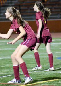 JV Girls Soccer @ Woodside – 2/15/18