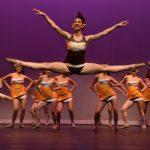 Dance Team Showcases Team Talent