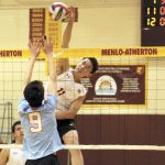 M-A boys volleyball on the verge