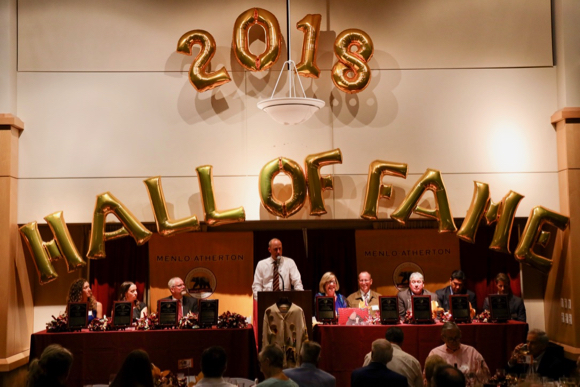 Seven individuals and two teams inducted into Menlo-Atherton High School's Athletic Hall of Fame