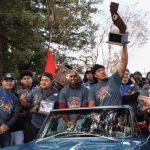 Community celebrates Menlo-Atherton High School state football champion team