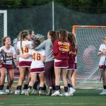 Bears take Knights in WBAL girls lacrosse match
