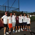 An all-M-A boys tennis singles final in PAL tournament
