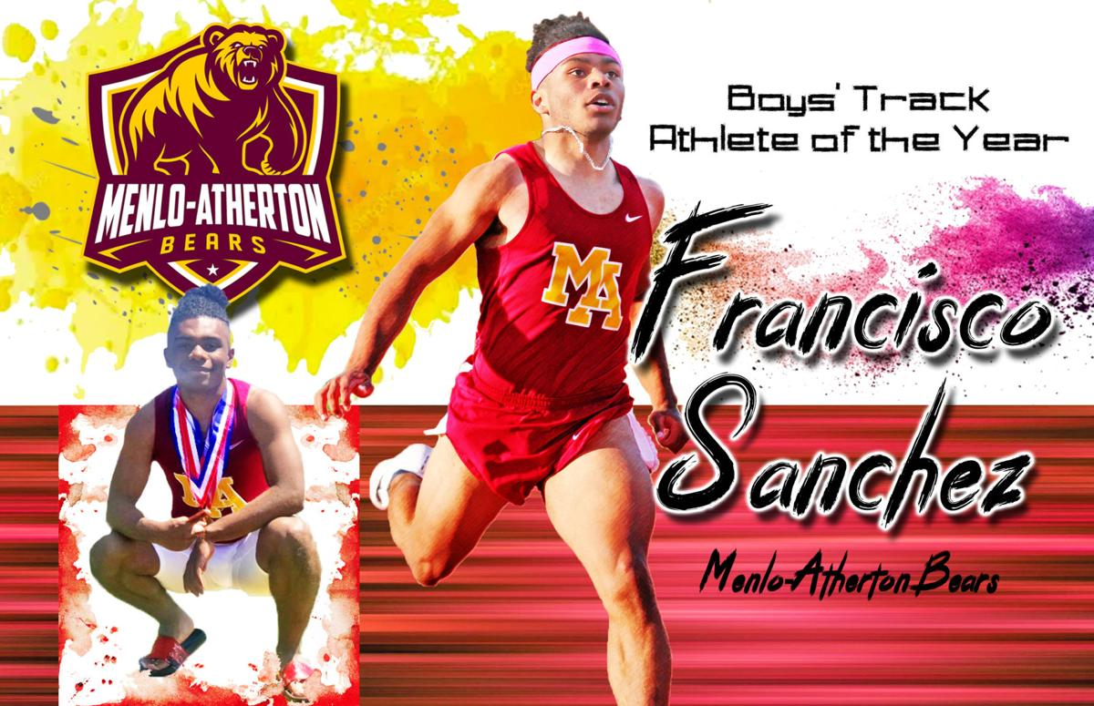 Francisco Sanchez-Daily Journal's Boys Track Athlete of the Year!