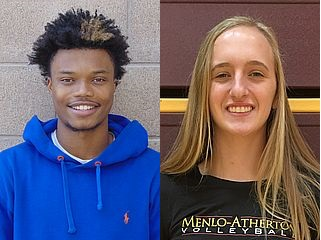M-A snags both Athletes of the Week from Palo Alto Weekly