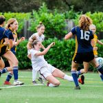 Girls soccer ties rival Menlo to open the 2019-20 season