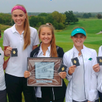Girls Golf Team Places 1st at Conference