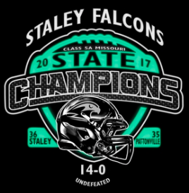 TWO OPTIONS FOR STATE FOOTBALL CHAMPIONSHIP GEAR