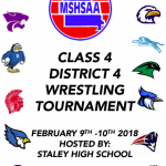STALEY SET TO HOST CLASS 4 DISTRICT WRESTLING
