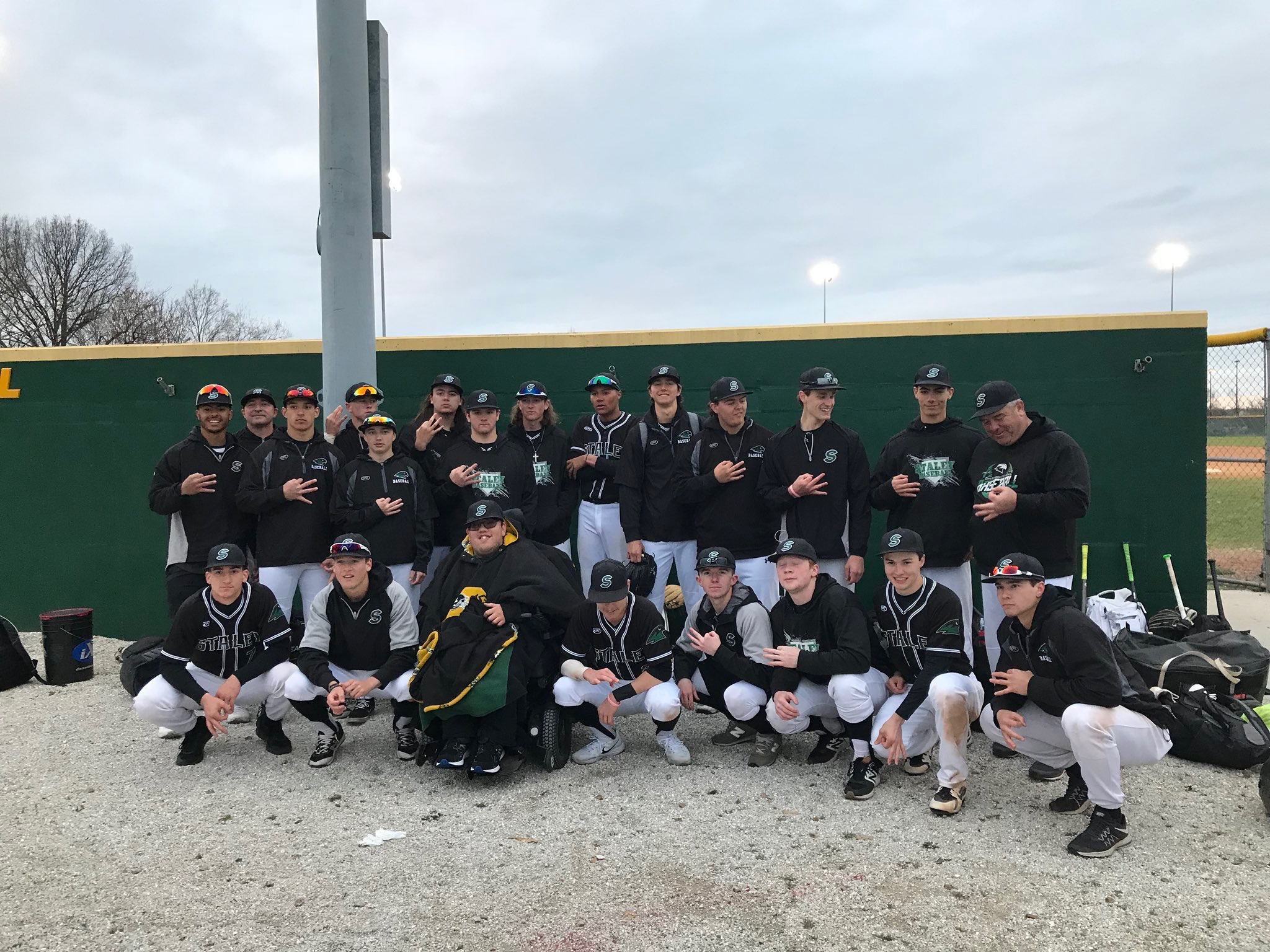 FALCONS PLAYING FOR NORTHLAND BASEBALL TOURNAMENT CHAMPIONSHIP FRIDAY