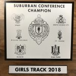 Girls Varsity Track finishes 1st place at Conference Championship Meet @ William Chrisman High School
