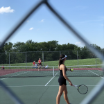 Girls Varsity Tennis falls to Park Hill 6 – 3