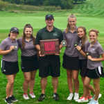 Girls Varsity Golf finishes 1st place at Conference Championship