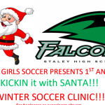 STALEY GRADES K-6 WINTER SOCCER CLINIC