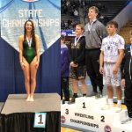 GREAT STATE SWIMMING/DIVING AND WRESTLING TOURNAMENTS FOR STALEY!