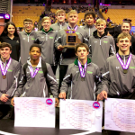 Varsity Wrestling finishes 4th place at MSHSAA State Championships @ Mizzou Arena