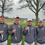 Boys Varsity Golf finishes 2nd place at Tournament @ Shamrock Hills Golf Club