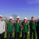 Boys Varsity Golf finishes 2nd place at Tournament @ Shiloh Springs Golf Course