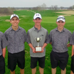 Boys Varsity Golf finishes 1st place at Quad @ Paradise Pointe Golf Complex