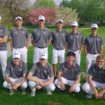 Boys Varsity Golf finishes 1st against St. Joseph Central