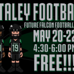 FREE FUTURE FALCON FOOTBALL CAMP CHANGES TO MAY 20-22