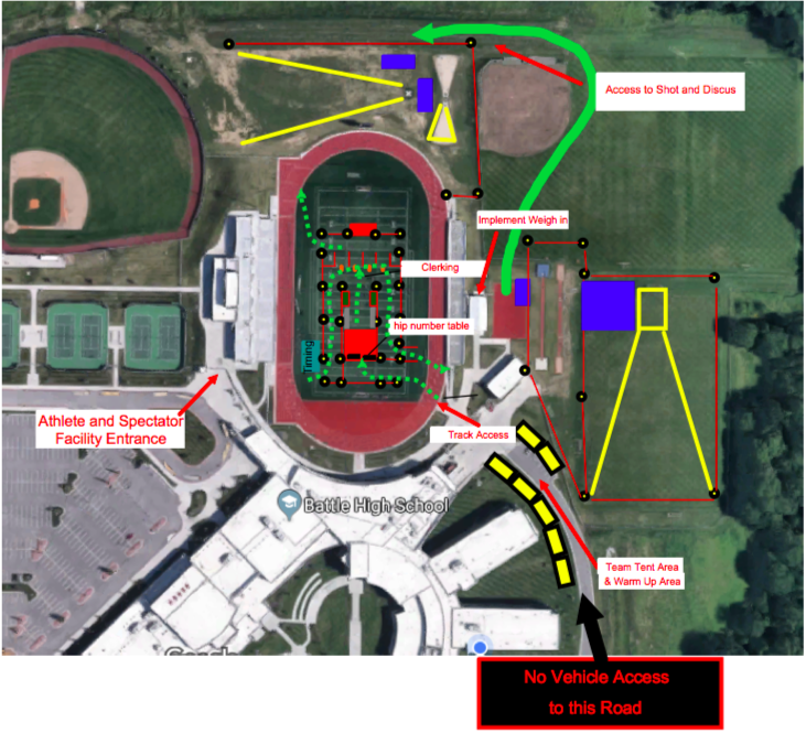 CLASS 5 STATE TRACK MEET INFORMATION – SAT., MAY 25
