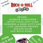 Girls' Swimming Hosts Rock N Roll Bingo