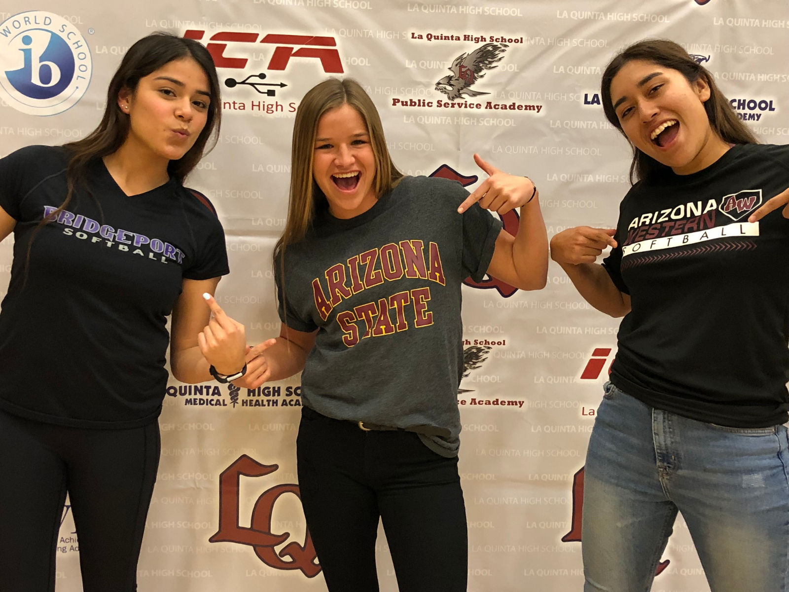 National Signing Day at LQHS!!