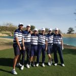 Boys Varsity Golf beats Rancho Mirage 219-242