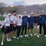 Boys Varsity Golf beats Shadow Hills 243-269