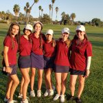 Girls golf defeat Hemet 246 to 311