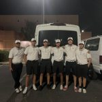 Boys Varsity Golf beats Rancho Mirage 206-228