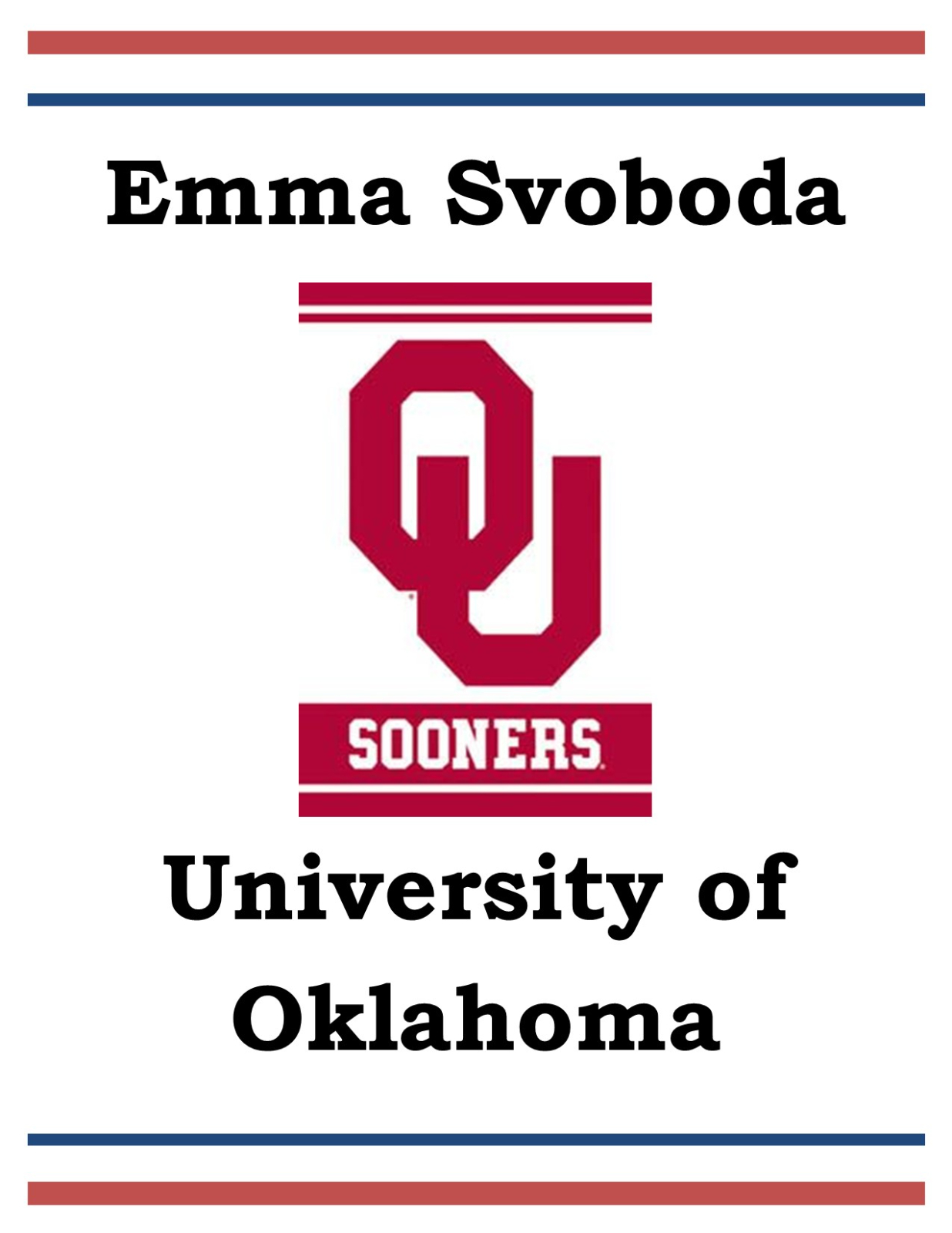 Girls Basketball Player Signs with University of Oklahoma
