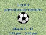 Boys Soccer Tryouts