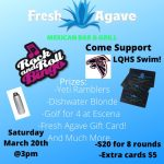 LQHS Swimming Fundraiser at Fresh Agave